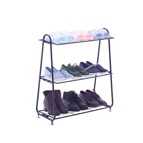 B-fengliu Estante for Zapatos de múltiples Capas de Hierro Soporte for Zapatos de Metal Multifuncional Organizador de Almacenamiento Traje de gabinete for Armario Entrada de Dormitorio (Color : B)