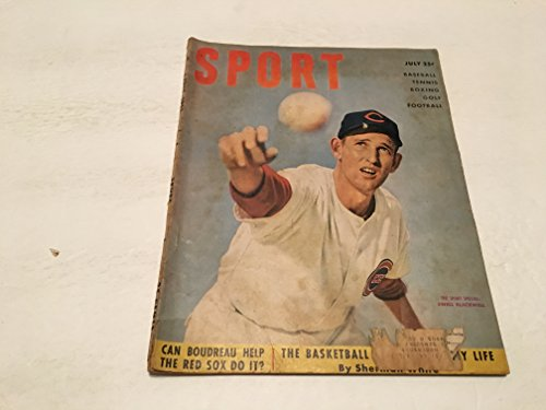 JULY 1951 SPORT MAGAZINE EWELL BLACKWELL COVER