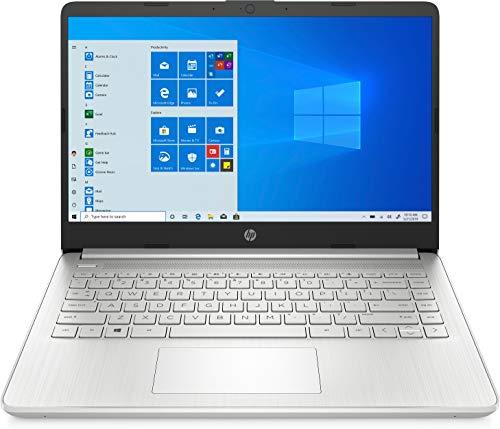 "HP - PC 14s-dq0041nl Notebook, Intel Celeron N4020, RAM 4 GB, SSD 128 GB, Grafica Intel UHD 600, Windows 10 Home S, Schermo 14"" HD Antiriflesso, Webcam, USB-C, USB, HDMI, Lettore Micro SD SD, Argento"