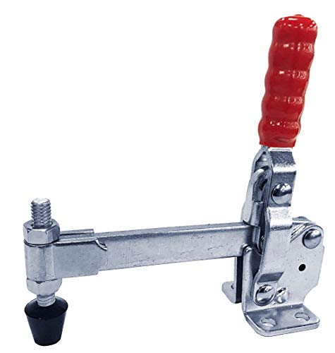 500LB SOLID LONG BAR FLG BASE VERTICAL HOLD-DOWN CLAMP(Same as 207-L)
