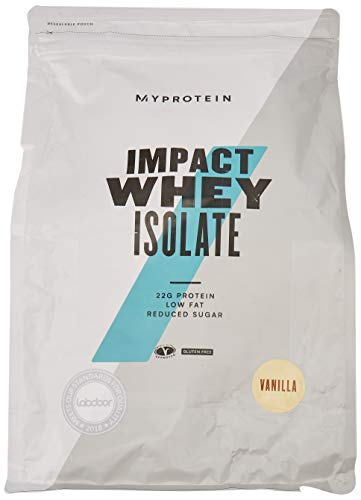 My Protein Impact Whey Isolate Proteins Supplement, 2.5 kg, Vanilla