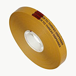 Scapa T002 ATG Tape (Acid Neutral): 1/2 in. x 36 yds. (Clear Adhesive on Tan Liner)