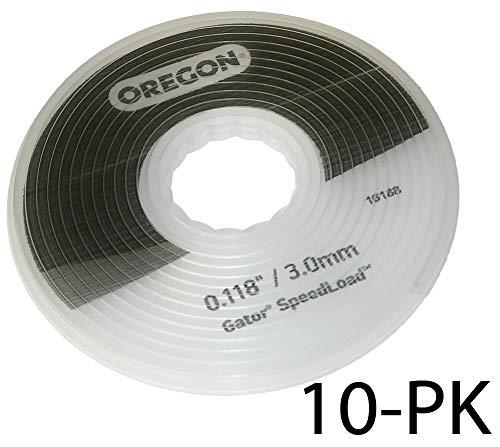 Recharge pour tête 24 550 Oregon - Diamètre 3 mm - Vendu par 10