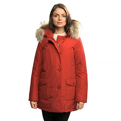 WOOLRICH WWCPS2479-CN03 Eskimo, Rosso, Small Donna