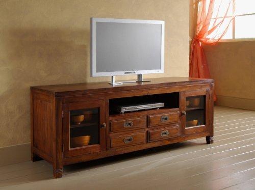 MaisonOutlet Mobile Porta-Tv stile etnico moderno in legno...