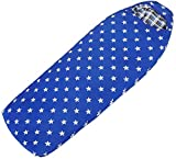 MGIZLJJ Portátil Saco de Dormir for los Adultos, al Aire Libre, Camping, Bolsillos internos Individuales Impermeables, Ligero Ligero Bolsa de compresión, tamaño: 90 cm, Color: Azul