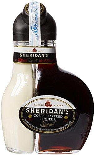Sheridan\'S Crema de Licor Café y Chocolate Negro, 700ml
