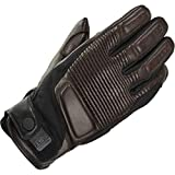 SPIDI Garage Leder Textil Classic Cafe Racer - Guantes para moto, color marrón