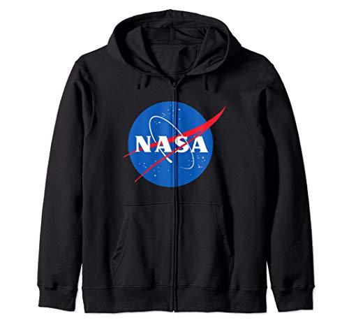 Logotipo oficial de la NASA Sudadera con Capucha