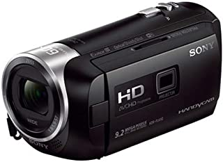 سوني هاندي كام كاميرا مع بروجيكتور مدمج ، 9.2 ميجابكسل ، 8 جيجابايت ، اسود ، HDR-PJ410E