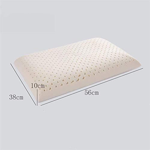 XYUN Natural Latex Pillow huis nekwervels Gezondheid Kussen Head Meditatie Orthopedisch kussen for Bed Gift (Kleur: Brood Latex Pillow)