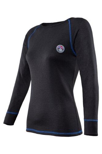 Nebulus THERMOSHIRT Aspen, Damen, schwarz, Thermounterwäsche, Shirt, Größe XL/42 (Q625)