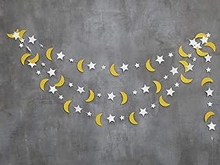 moon and stars art