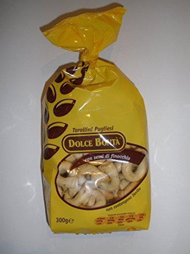 Dolce Bontà Tarallini con Semi di Finocchio / mit Fenchel 500 gr.
