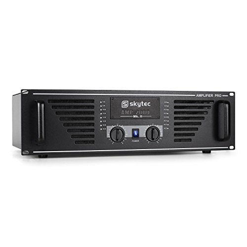 Skytec PRO-2000 PA-Verstärker Endstufe 2 x 1000W max. schwarz