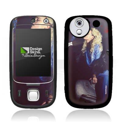DeinDesign HTC Touch Dual P5520 Case Skin Sticker aus Vinyl-Folie Aufkleber Frau Föhn Kamm
