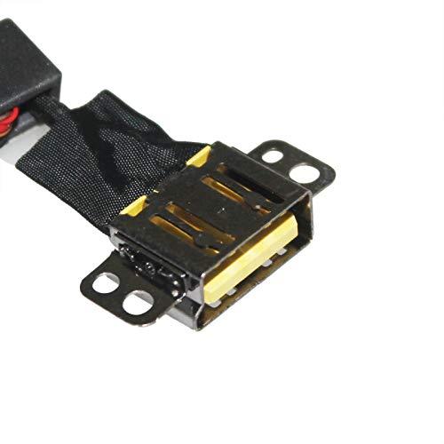 zahara DC Power Jack - Juego de cables de repuesto para Lenovo Thinkpad Yoga 700-14ISK