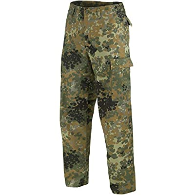 Mil-Tec BDU Ranger Combat Trousers Flecktarn Size XXL