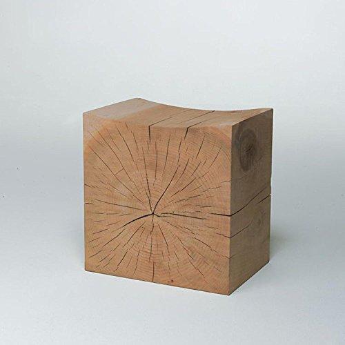Heruai Natürliche Holzstämme Pier Hymenium Holz Wurzel Hocker Ornamente Holz Pier Basis Tee Tisch Hocker Halterung Stumpf Holzbank, b 45 * 30 * 42cm