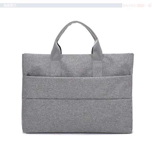 Laptoptas van linnen, 39,6 cm (15,6 inch), voor dames en heren, zakelijke koffer