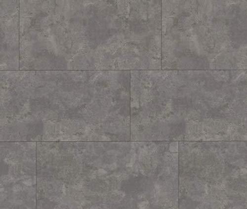 HORI® Klebe-Vinylboden Steinfliese Beton hell Bielefeld massiv I für 12,62 €/m²