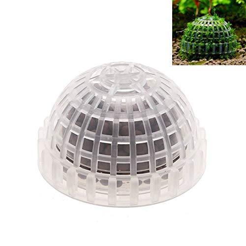 Natuce Moss Ball Filter, Creative Aquarium Fish Tank Grass Ball con Bolas de minerales, Plantas flotantes vivas para la decoración del Acuario.