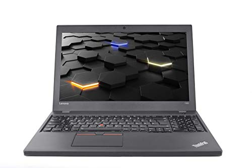 Lenovo ThinkPad T560 (15,6 Zoll / FHD) Notebook - Intel Core i5 (6.Gen), 8GB RAM, 500GB SSD, Webcam, HDMI, Bluetooth, Windows 10 Pro (Generalüberholt)