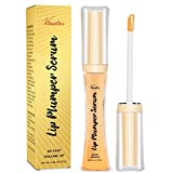 Lip Plumper, 3D Natural Collagen Lip Enhancer, Lip Plumping Lip Gloss, Fuller & Hydrated, Sexy Lip...