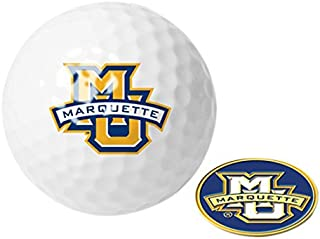 NCAA Marquette Golden Eagles - Golf Ball One Pack with Marker