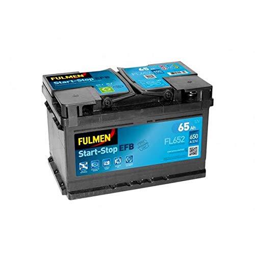 Fulmen - Batería para Coche Start-Stop EFB FL652 12V 65Ah 650A