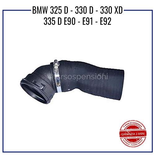 COMPATIBILE CON B M W 325 D 330 D 330 XD E90 E91 E92 MANICOTTO INTERCOOLER TUBO TURBO 11618506078