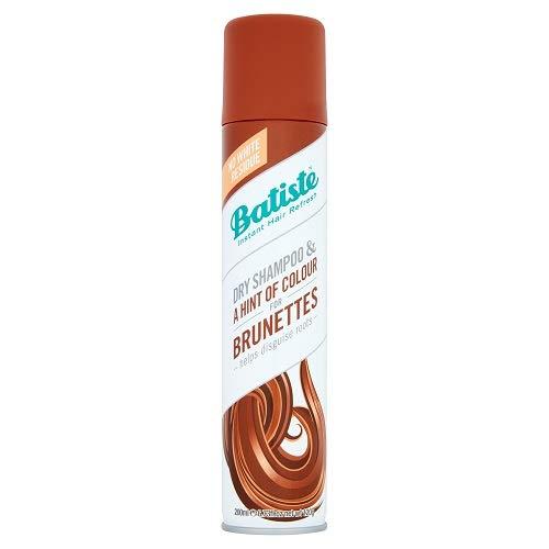Batiste Trockenshampoo Dry Shampoo Beautiful Brunette mit einem Hauch von Farbe für brünettes Haar, Frisches Haar für alle Haartypen, 1er Pack (1 x 200 ml)