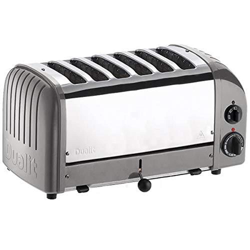Dualit CD336 Vario Toaster, 6 Slices, Metallic Silver