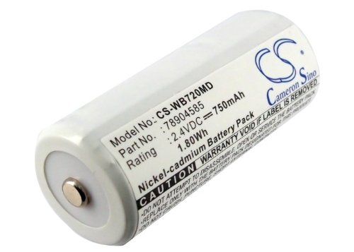 Battery Replacement for Welch-Allyn 72000 707 60700 60713 70000 70200 70500 70700 70710 70715 70720 70750 70751 70754 70755 71205 71210 71250 71500 99408