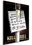 Instabuy Poster Kill Bill Vol.2 Vintage Theaterplakat - A3