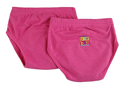 Bright Bots Potty Lot de 2, rose, extra large, 30–36 mois)