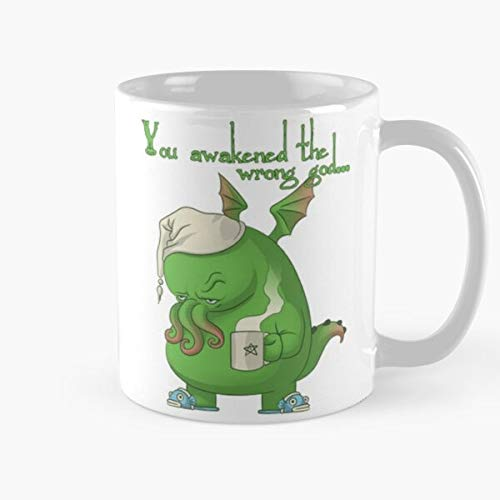ClownZii Mythos Call Tags Cthulhu Cthulu Lovecraft Tentacle Miskatonic Hp Best 11 oz Kaffeebecher - Nespresso Tassen Kaffee Motive