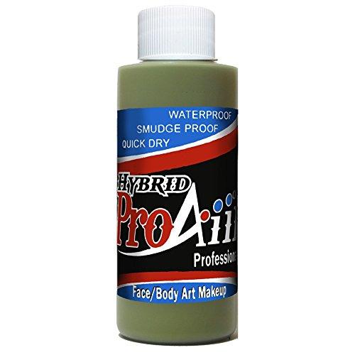 ShowOffs Body Art ProAiir Hybride Maquillage Standard - Mossy Vert (2,1 oz)