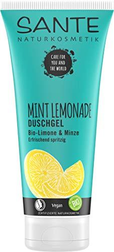 Sante Naturkosmetik Limited Edition Mint Lemonade Duschgel, 3er Pack(3 x 200 ml)