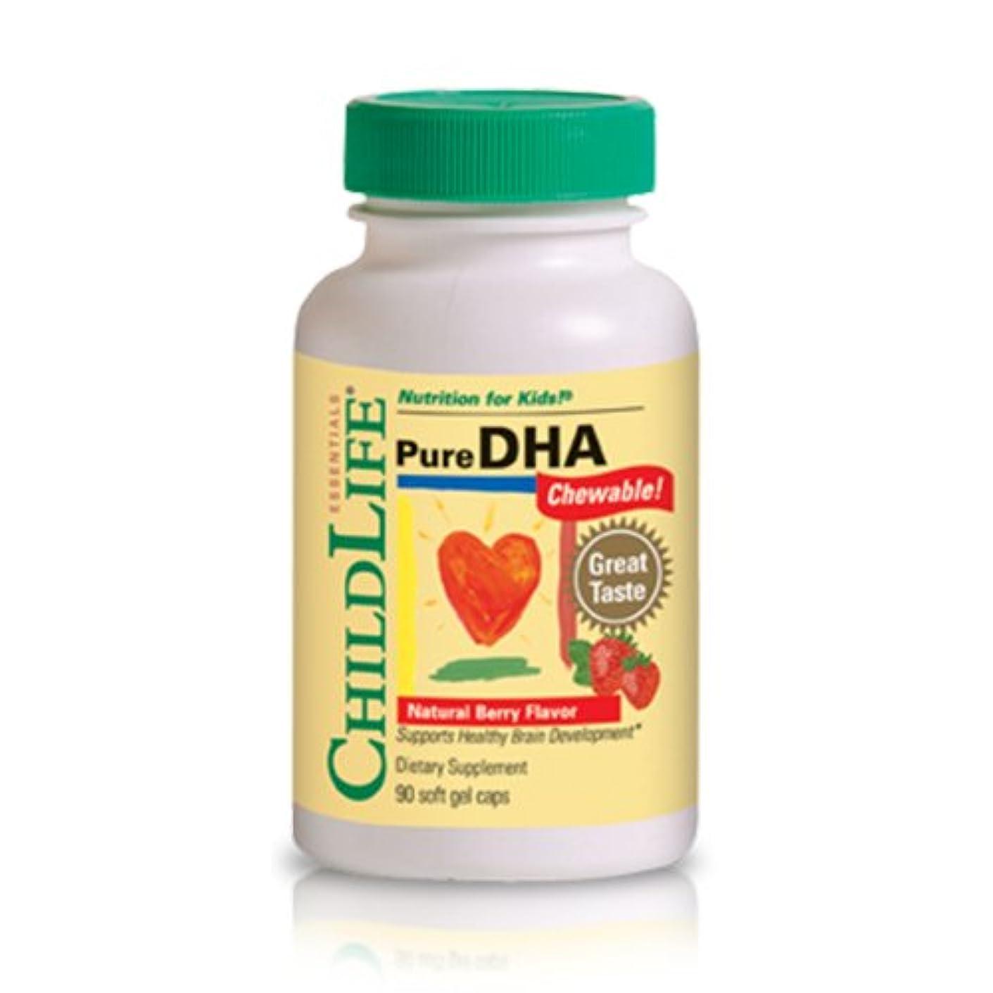 黒板印象的ビール海外直送品 Child Life Essentials Pure Dha, 90 Softgels 250 mg