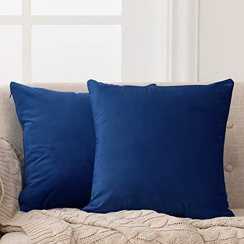 Deconovo Fundas para Cojines de Almohada del Sofá Cubierta Suave Decorativa Protector para Hogar 2...