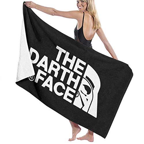 AGHRFH Toalla de playa de microfibra con diseño de Darth Vader X North Face.