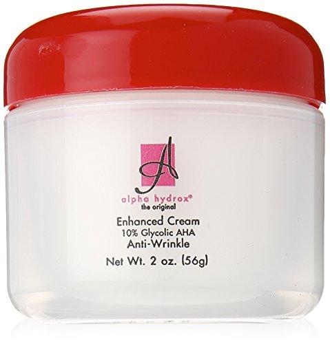 Alpha Hydrox AHA Enhanced Creme, Anti-Wrinkle Exfoliant - 2 oz