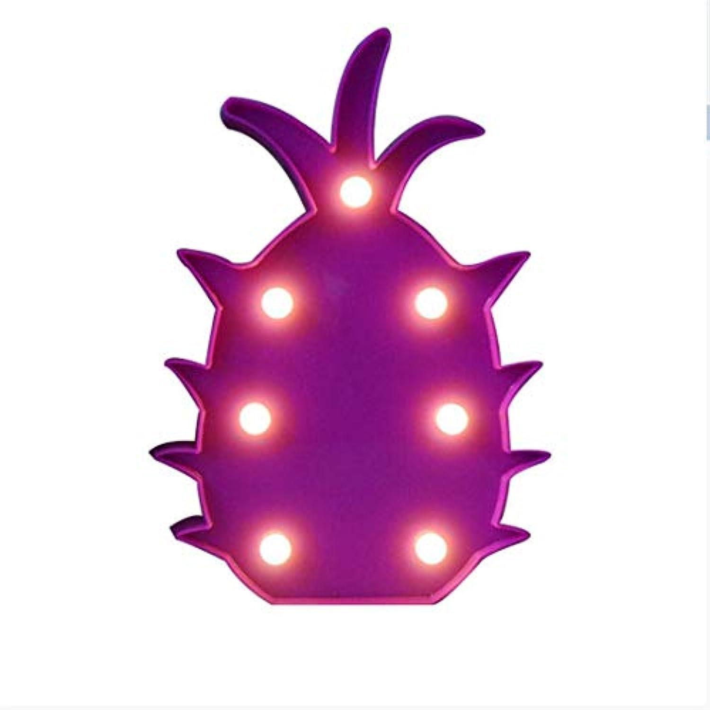 Nachttischlampe Nachttisch Schreibtischlampe Nachttischlampen Kreative Seltsame Dekorative Ananasform Tischlampe Nettes Kind Baby Zimmer Wal Nachtlicht für Schlafzimmer, Wohnzimmer, Kinderzimmer, Bür