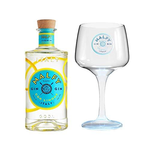 Malfy Gin con Limone + Original Malfy Copa Glas