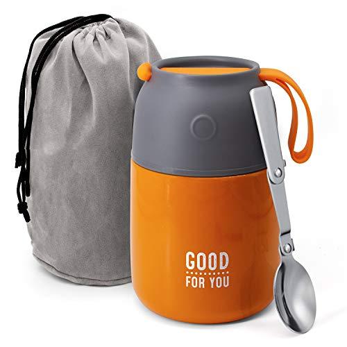 pas cher un bon Good For You Food Thermos – Boîte à lunch en acier inoxydable pour la cuisson chaude et froide -…