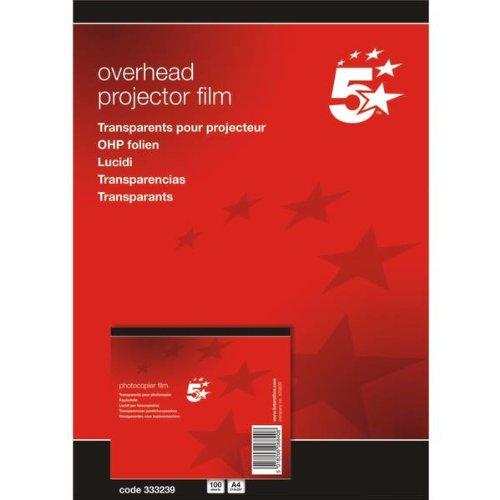 5 Star(TM) - Papel de impresión y fotocopia DIN A4 poliéster 0,10 mm (100 unidades),...