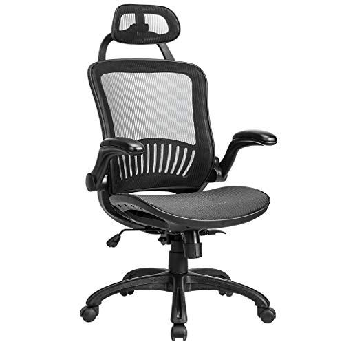 Office Chair Desk Chair Computer Chair Ergonomic Rolling Swivel...