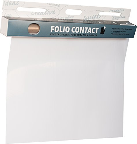 Folio Contact CB256080 Clearboard, 60 x 80 cm, 25 Blatt, klar