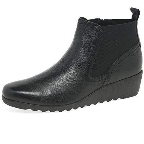 Caprice Damen 9-9-25459-25 022 Stiefelette, Black Nappa, 39 EU